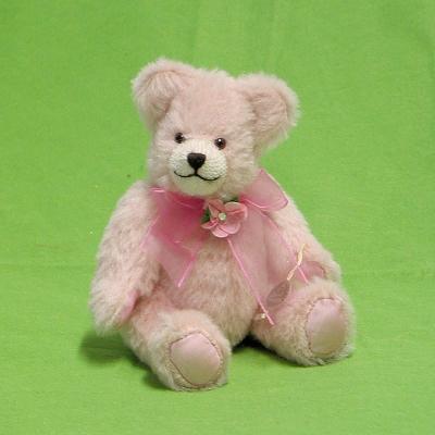 Flower of my Heart 19 cm Teddy Bear by Hermann-Coburg
