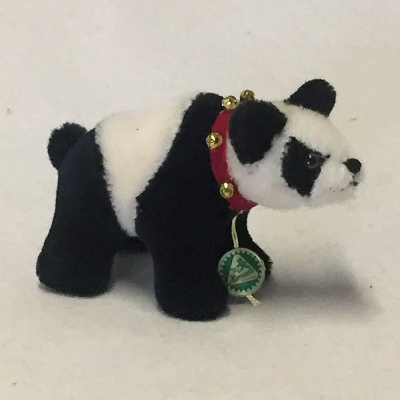 Classic Miniatur Panda Banana Teddy Bear by Hermann-Coburg