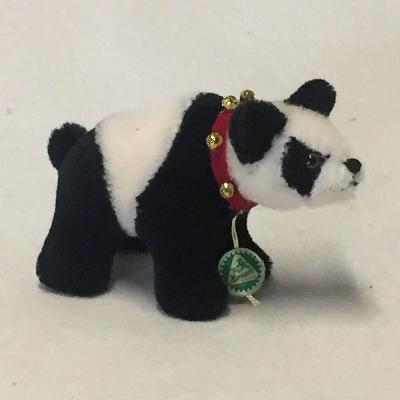 Classic Miniatur Panda Banana Teddybär von Hermann-Coburg