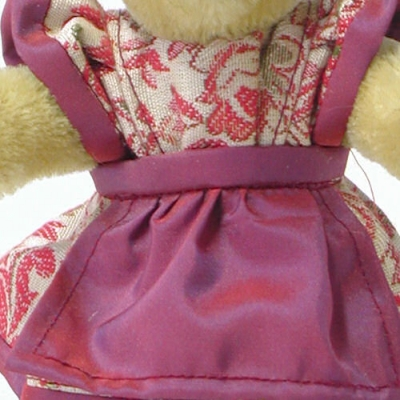 Miniatur Steh-Bär Bavarian Girl Teddy Bear by Hermann-Coburg