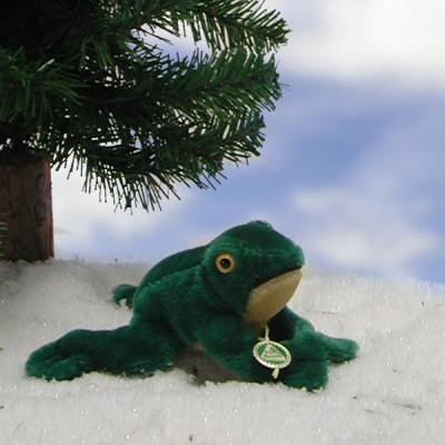 Fred the Frog 15 cm  by Hermann-Coburg