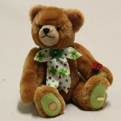 My Lucky Bear 2020 27 cm Teddy Bear by Hermann-Coburg