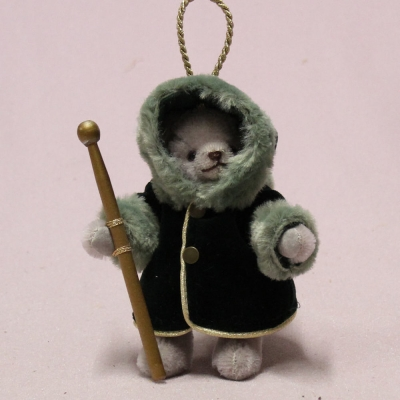 Ornament Set 2020 13 cm Teddy Bear by Hermann-Coburg