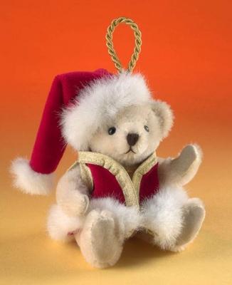 Santa Teddy Bear by Hermann-Coburg