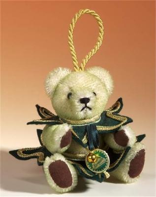 Christmas Tree Teddy Bear by Hermann-Coburg