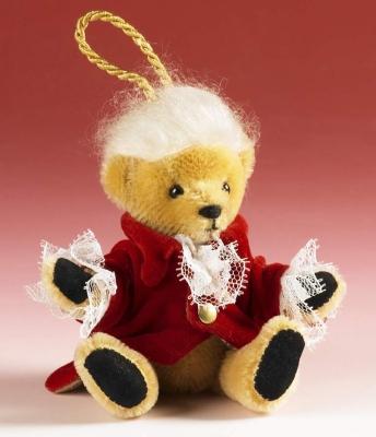 Wolfgang Amadeus Mozart Teddy Bear by Hermann-Coburg
