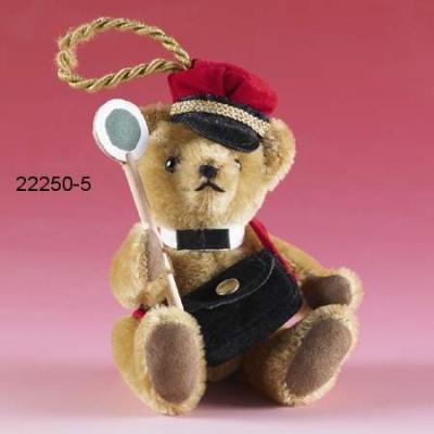 Eisenbahner Teddy Bear by Hermann-Coburg