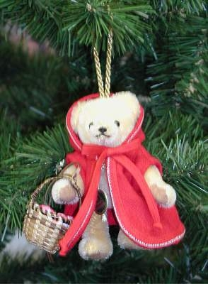Little Red Riding Hood Teddy Bear by Hermann-Coburg