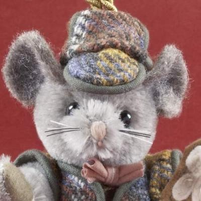 Zucker Maus Teddy Bear by Hermann-Coburg