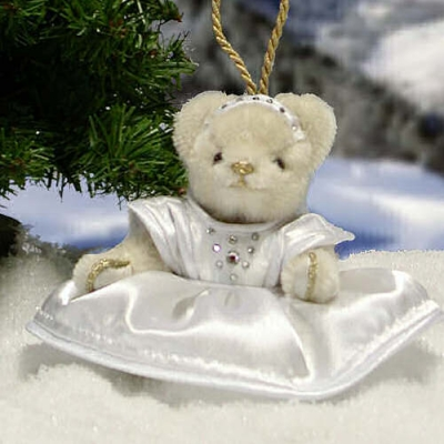 Diamond Angel Teddy Bear by Hermann-Coburg
