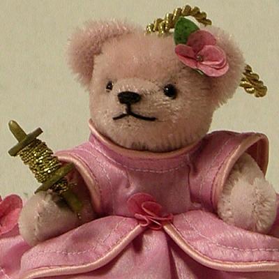 Dornröschen Teddy Bear by Hermann-Coburg