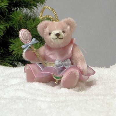 Zuckerpüppchen Candy mit Lolli Teddy Bear by Hermann-Coburg