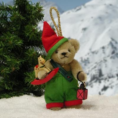 Weihnachtswichtl   Teddy Bear by Hermann-Coburg