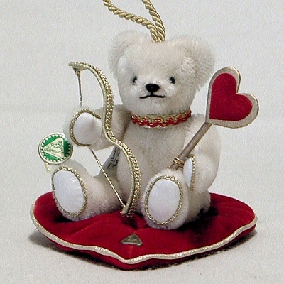 Cupid – the messenger of love 12,5 cm Teddy Bear by Hermann-Coburg