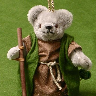Der Heilige Joseph 13 cm Teddybär von Hermann-Coburg