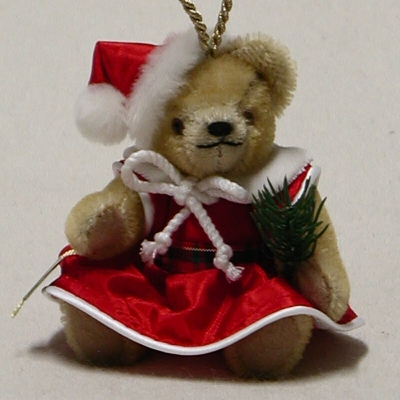 Santa's little Christmas Fairy 13 cm Teddy Bear by Hermann-Coburg