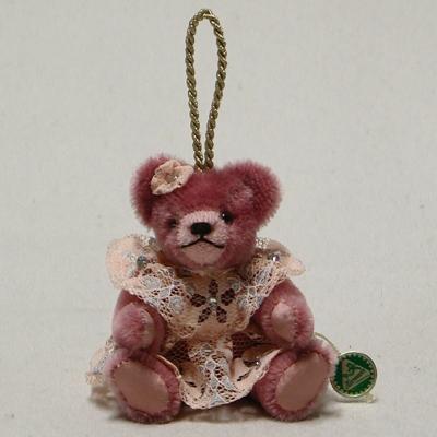 Kleines Teddy-Püppchen 13 cm Teddybär von Hermann-Coburg