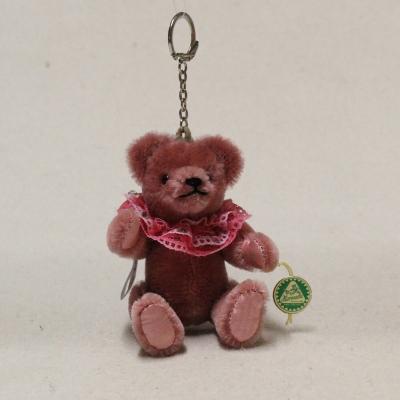 Taschen-Anhänger altrosa 13 cm Teddybär von Hermann-Coburg
