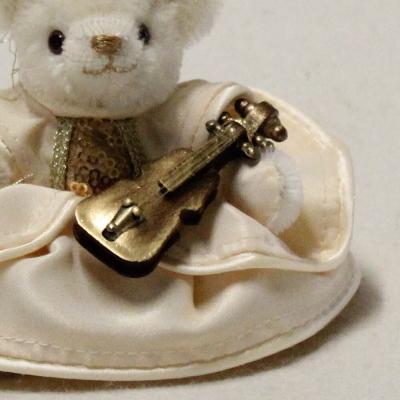 Engelssymphonie 13 cm Teddybär von Hermann-Coburg