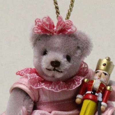 Clara und der Nussknacker 13 cm Teddybär von Hermann-Coburg