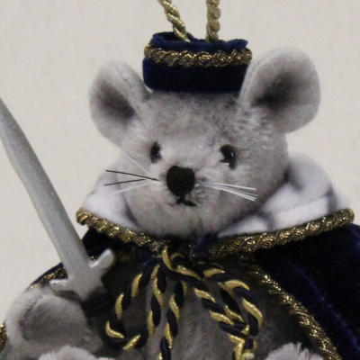 Mouse King 13 cm Teddy Bear by Hermann-Coburg