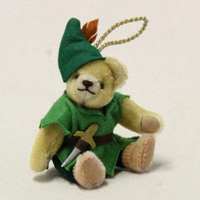 Teddy Peter Pan 13 cm Teddy Bear by Hermann-Coburg
