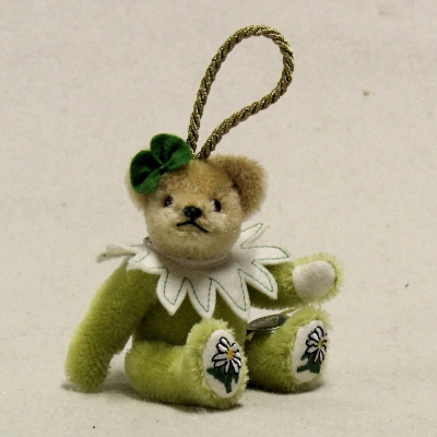 Edelweiß 13 cm Teddybär von Hermann-Coburg