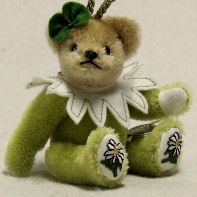 Edelweiss 13 cm Teddy Bear by Hermann-Coburg