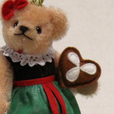 Gretel 13 cm Teddy Bear by Hermann-Coburg