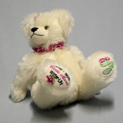 Claude Monet Water-Lily 33 cm Teddy Bear by Hermann-Coburg