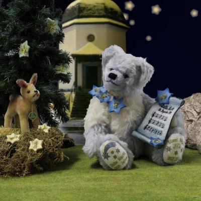 Stille Nacht Bär (Modell 2018) 36 cm Teddybär von Hermann-Coburg
