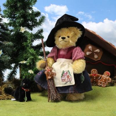 Knusperhexe Little Witch 33 cm Teddybär von Hermann-Coburg