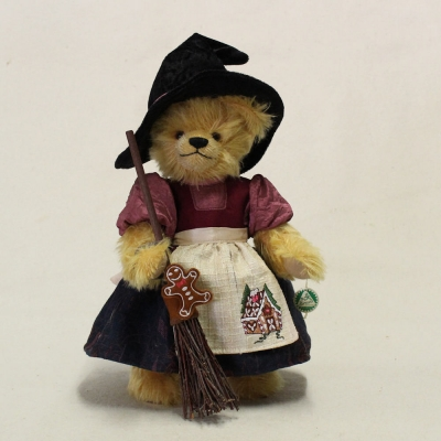 Nibble Witch 33 cm Teddy Bear by Hermann-Coburg