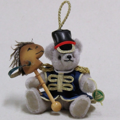 Little Guardsman 13 cm Teddy Bear by Hermann-Coburg
