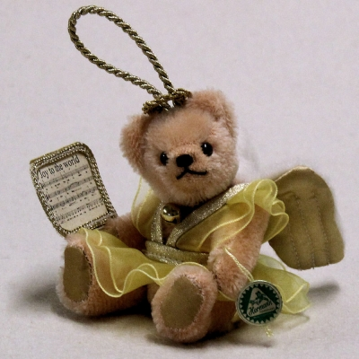 Ornament Set 2019 Jeder 13 cm Teddy Bear by Hermann-Coburg