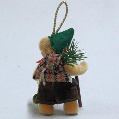 Der fröhliche Wanderer 13 cm Teddybär von Hermann-Coburg