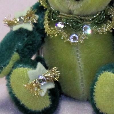 The Glory of Christmas 13 cm Teddy Bear by Hermann-Coburg