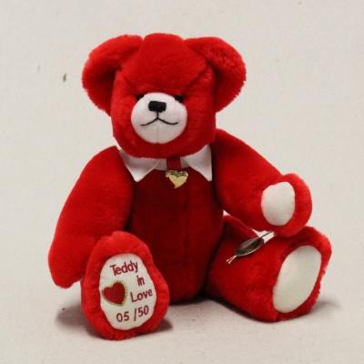 Teddy in Love 32 cm Teddy Bear by Hermann-Coburg