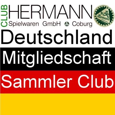 HERMANN Coburg Sammler Club Mitgliedschaft Deutschland - Clubjahr 2018