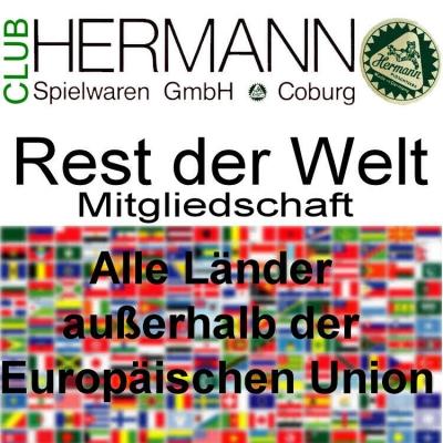 HERMANN Coburg Sammler Club Mitgliedschaft Welt - Clubjahr 2020