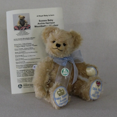 Royal Baby Sussex Archie Harrison Mountbatten-Windsor