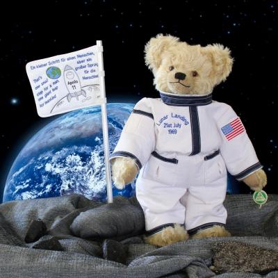 50 Years Lunar Landung 35 cm Teddy Bear by Hermann-Coburg