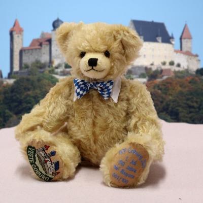 100 Jahre Coburg bei Bayern – 1 Juli 1920 – 2020 35 cm Teddy Bear by Hermann-Coburg