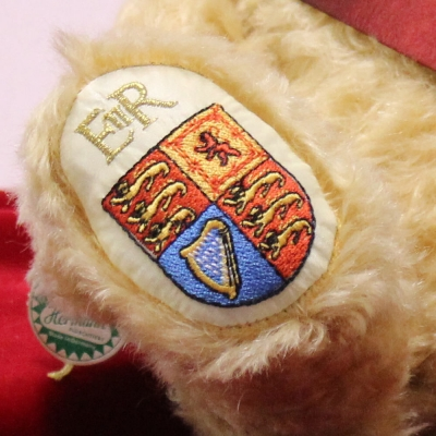 Queen Elizabeth II Celebration Bear for Her Majestys 95th birthday on 21st April 2021 34 cm Teddy Bear