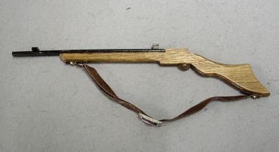 Kleines Holzgewehr 25,5 cm