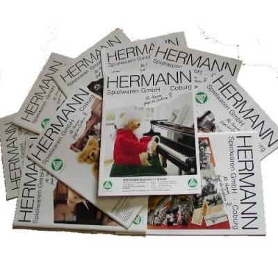 Set der HERMANN Coburg Kataloge von 1997 bis 2008, 12 Kataloge