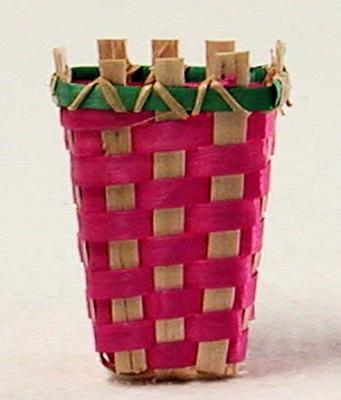 Original Nostalgie Osterhasen Spankörbchen aus den frühen 1950er Jahren
