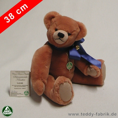 Teddybear Lucas 38 cm 15 inch Classic Bears to Cuddle