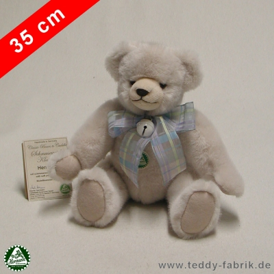 Teddybär Henriette 35 cm schmuseweiche Klassiker