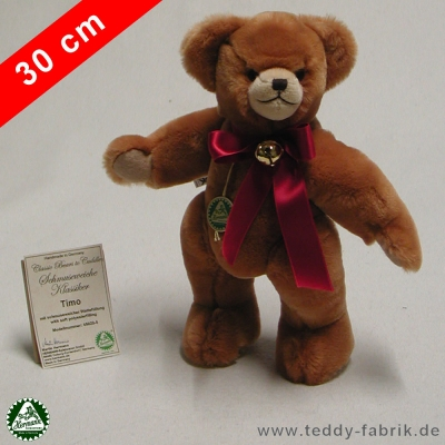 Teddybear Timo 30 cm 12 inch Classic Bears to Cuddle